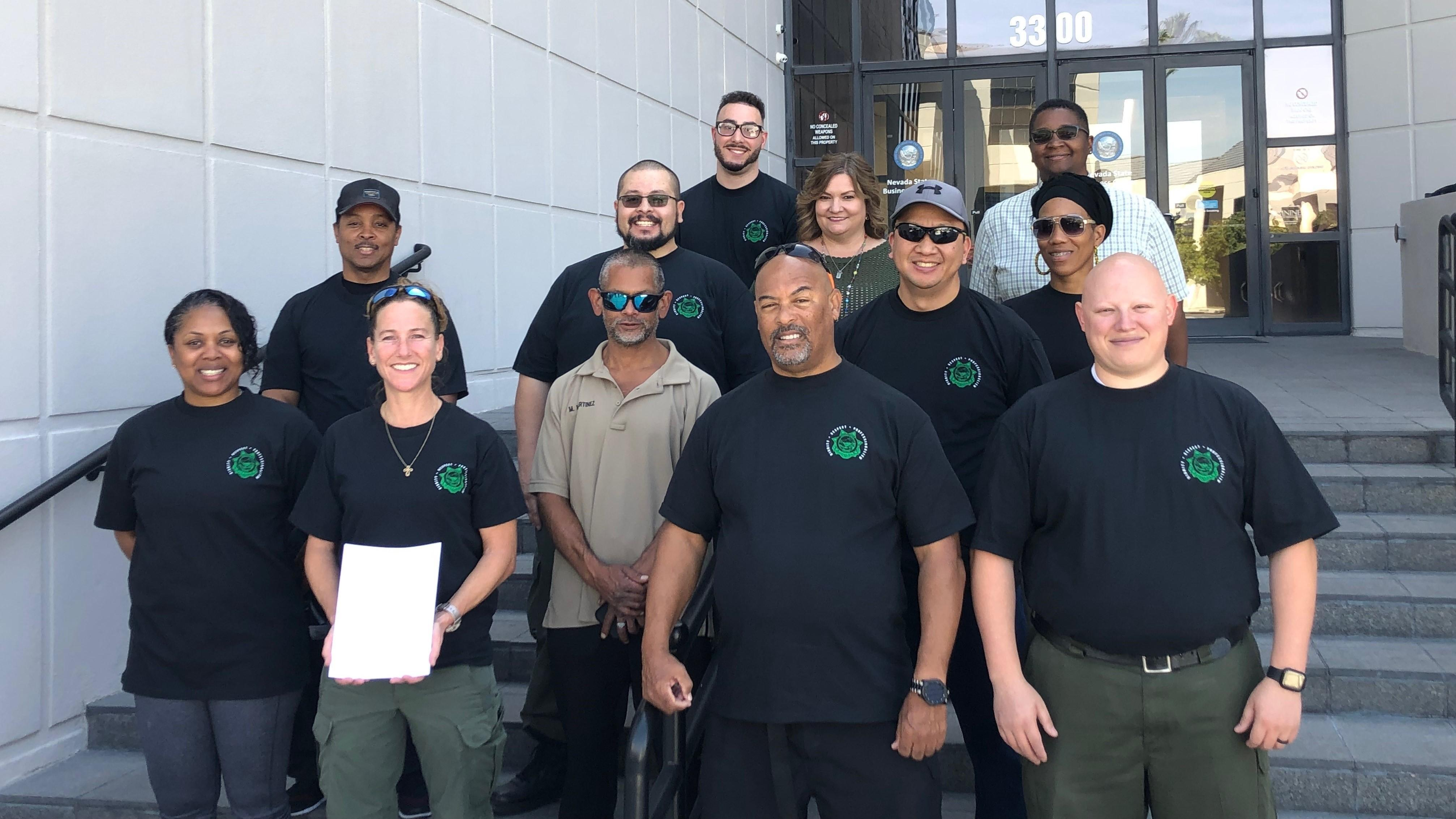 Photo of Nevada corrections workers